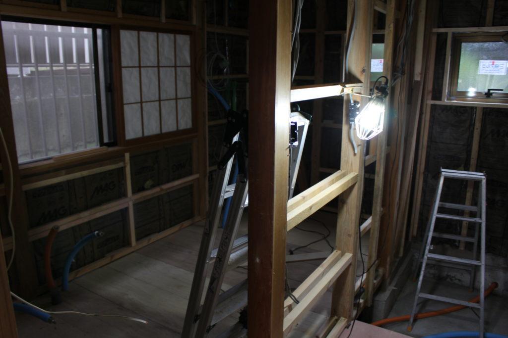 改装工事18~20日目@防蟻工事終わり、床ができました!