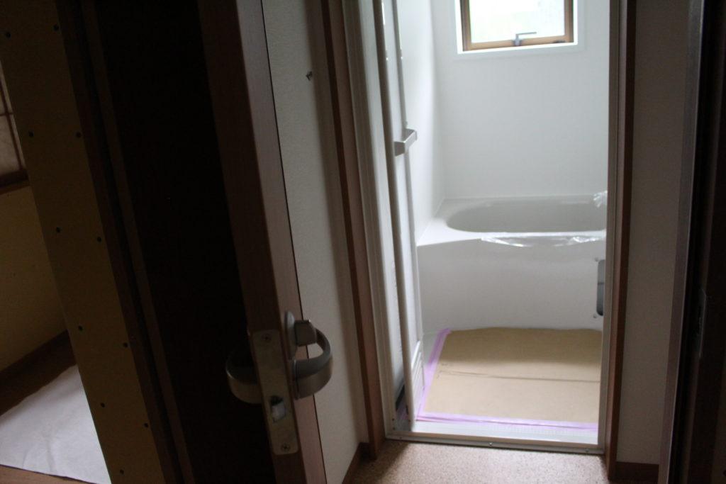 改装工事32~35日目@浴室完成しました!
