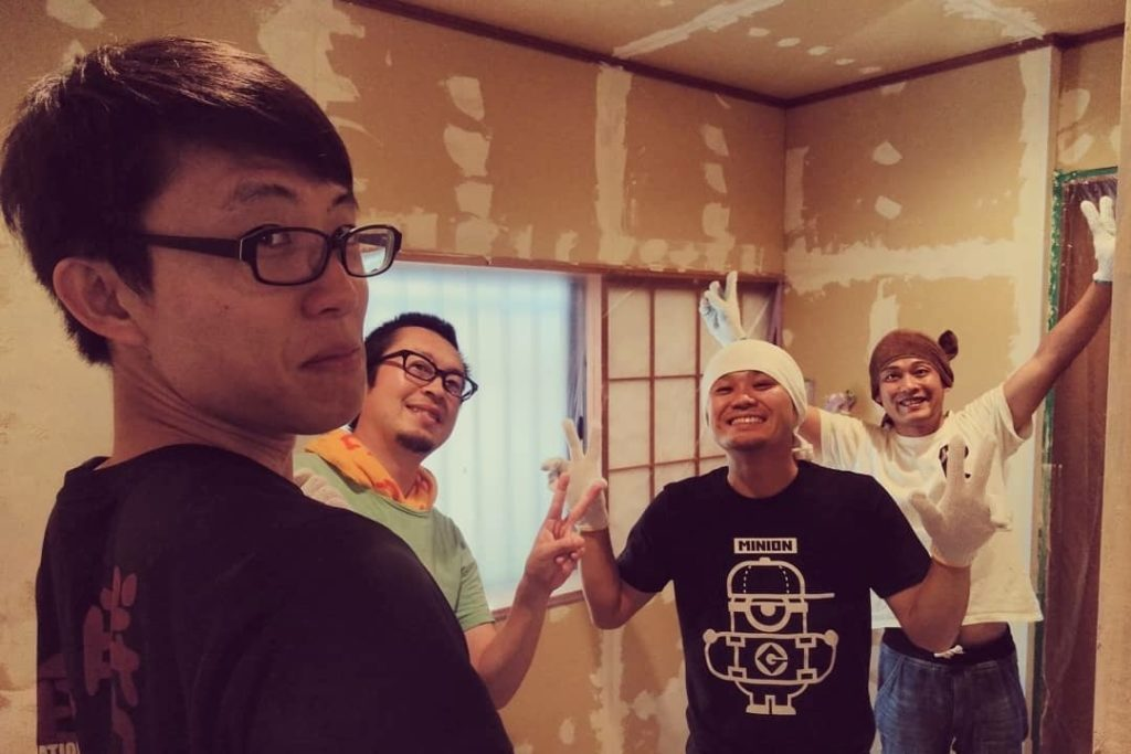 DIY2~7日目@キッチン、水回りスペースの塗装が完了しました!