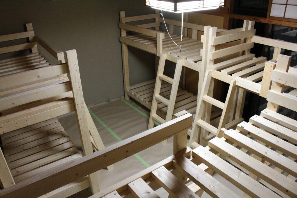DIY41~83日目@二段ベッドの工事ひと段落